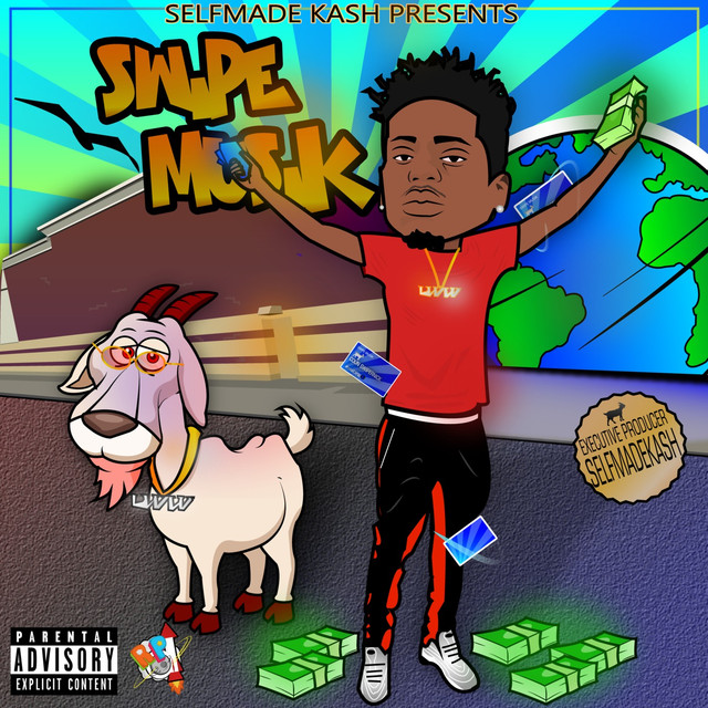 Album cover for Swipe Musik by Selfmade Kash