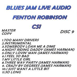 Blues Jam Live Audio: Fenton Robinson album