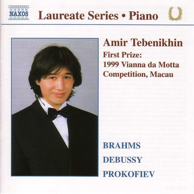 Piano Recital: Amir Tebenikhin Albumcover