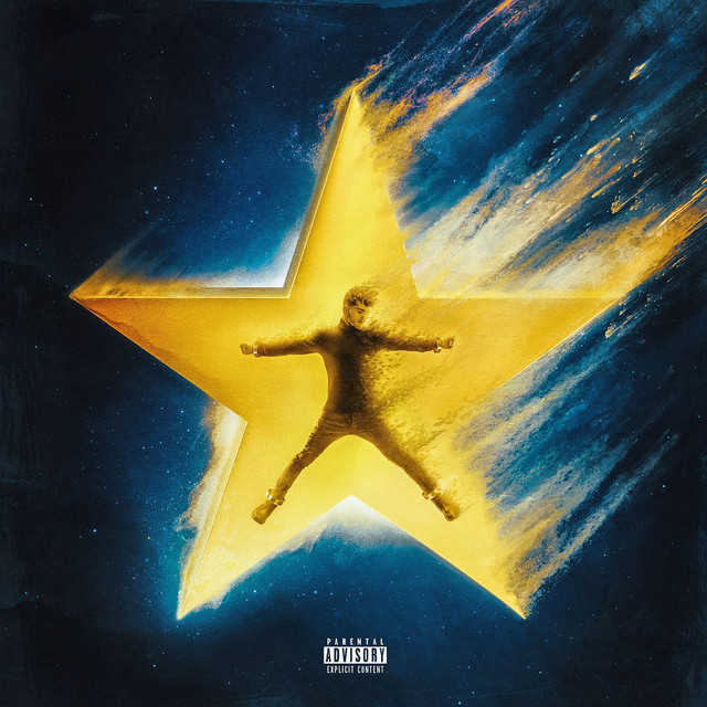 Album cover for COSMIC by Bazzi