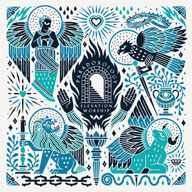 Album cover for Paradoxology by Elevation Worship