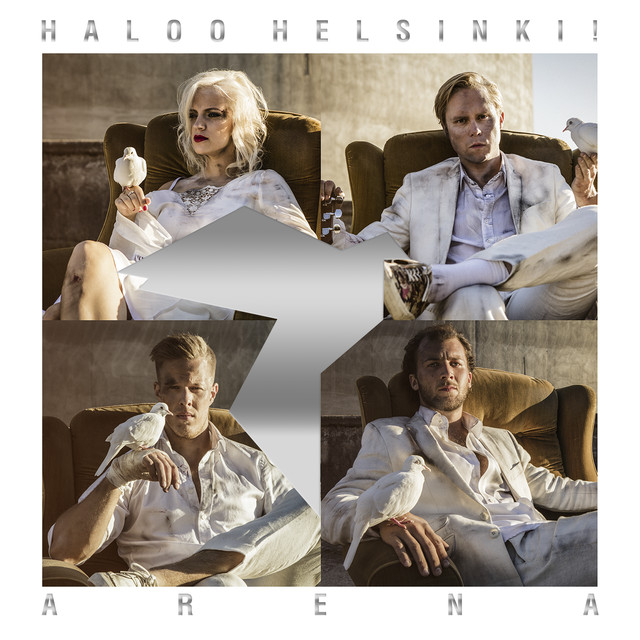 Album cover for Arena by Haloo Helsinki!