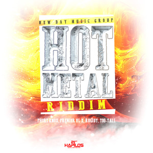 Hot Metal Riddim Albumcover