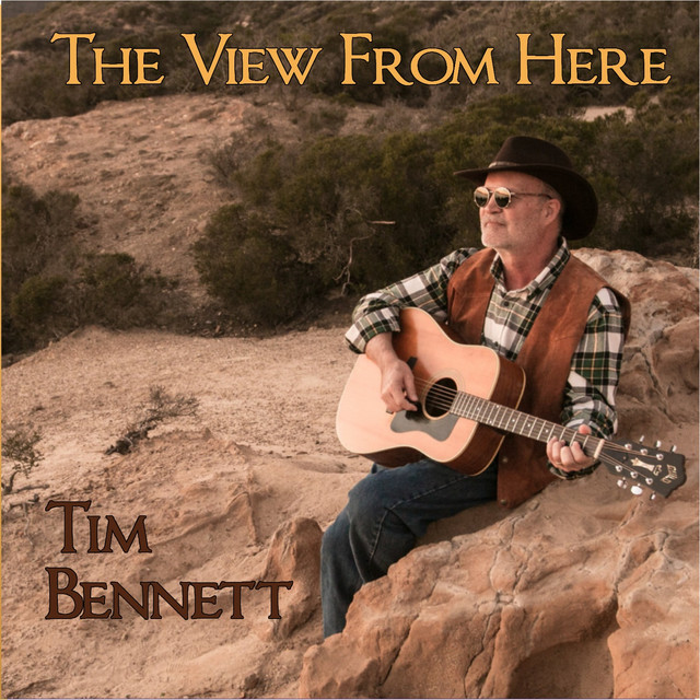 Album cover for The View from Here by Tim Bennett