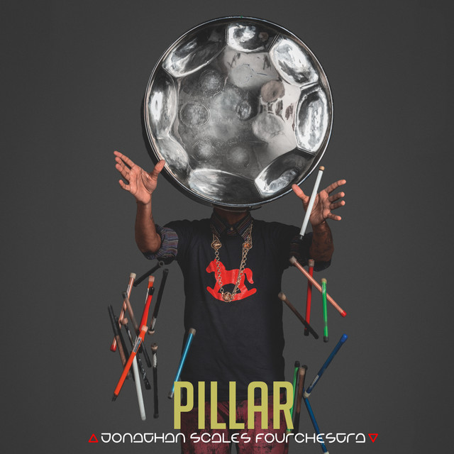 Album cover for PILLAR by Jonathan Scales Fourchestra