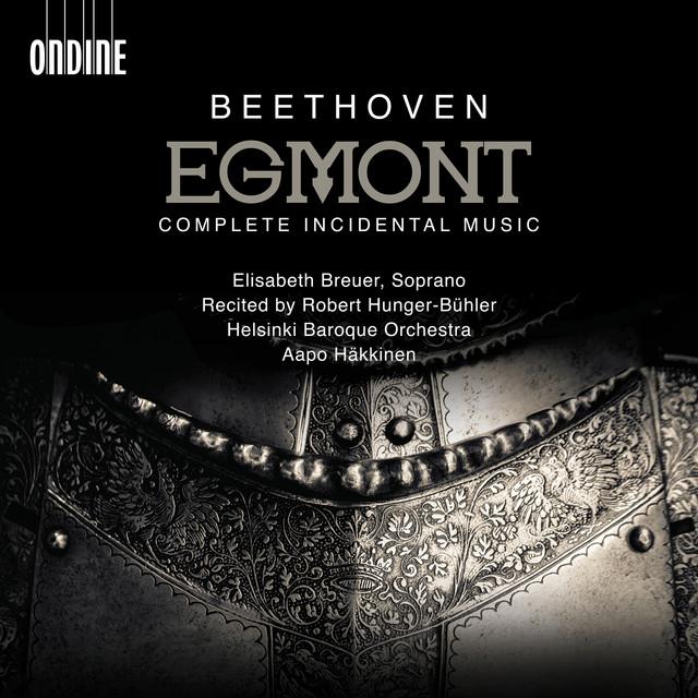 Album cover for Beethoven: Egmont, Op. 84 (Live) by Ludwig van Beethoven, Elisabeth Breuer, Helsinki Baroque Orchestra, Aapo Häkkinen