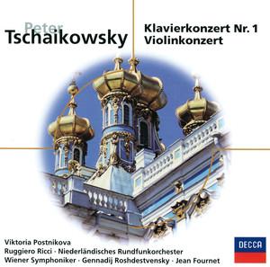 Tschaikowsky: Piano Concerto Nr.1, Op.23 - Violin Concerto, Op.35 (Eloquence) Albumcover