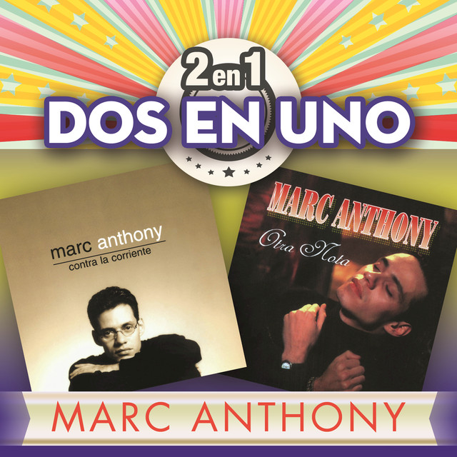 Album cover for 2En1 by Marc Anthony