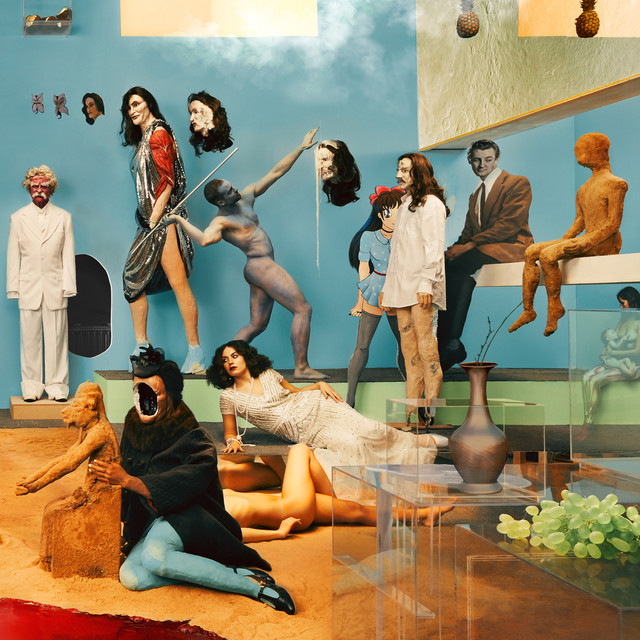 Album cover for Amen & Goodbye by Yeasayer