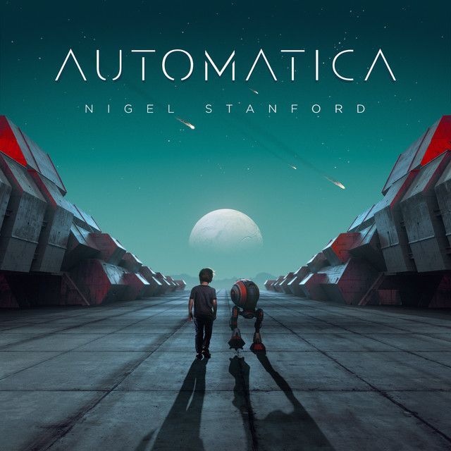 Album cover for Automatica by Nigel Stanford