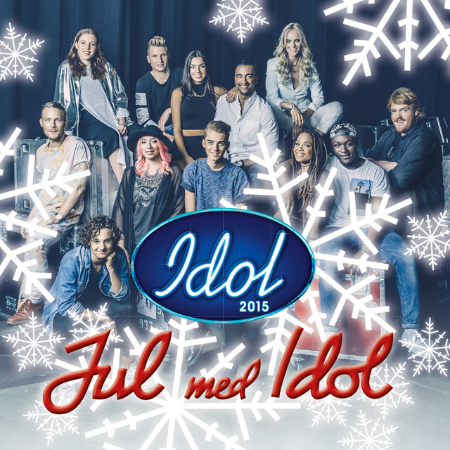 Album cover for Jul med Idol by Idolerna 2015