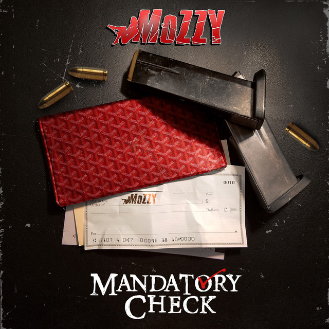 Album cover for Mandatory Check by Mozzy