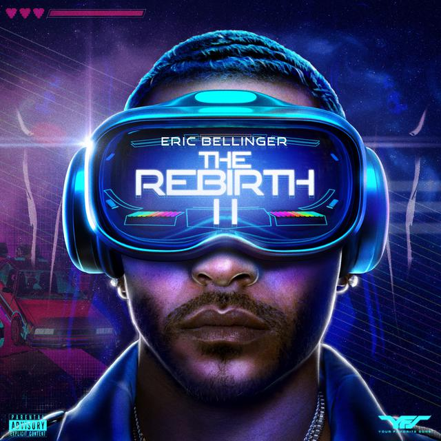 Album cover for The Rebirth 2 by Eric Bellinger
