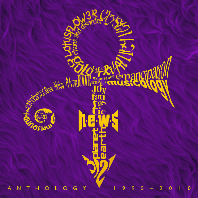 Album cover for Anthology: 1995-2010 by Prince