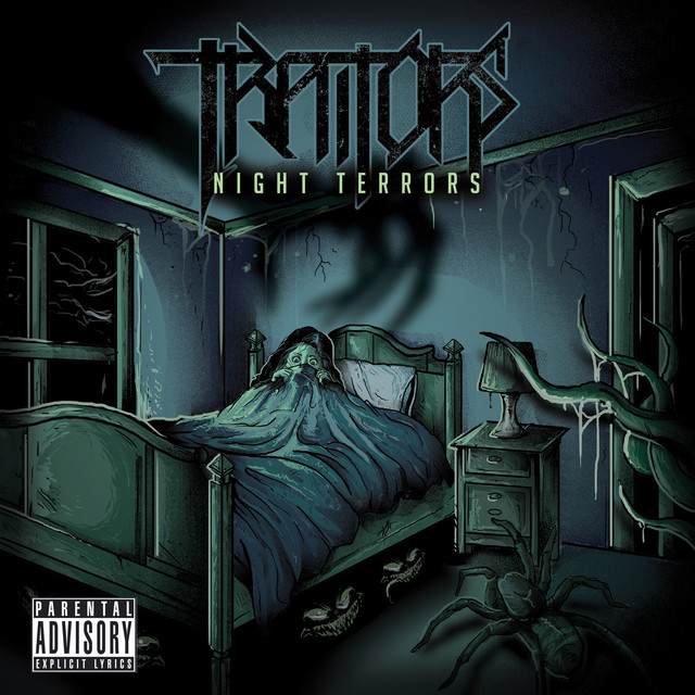 Album cover for Night Terrors by Traitors