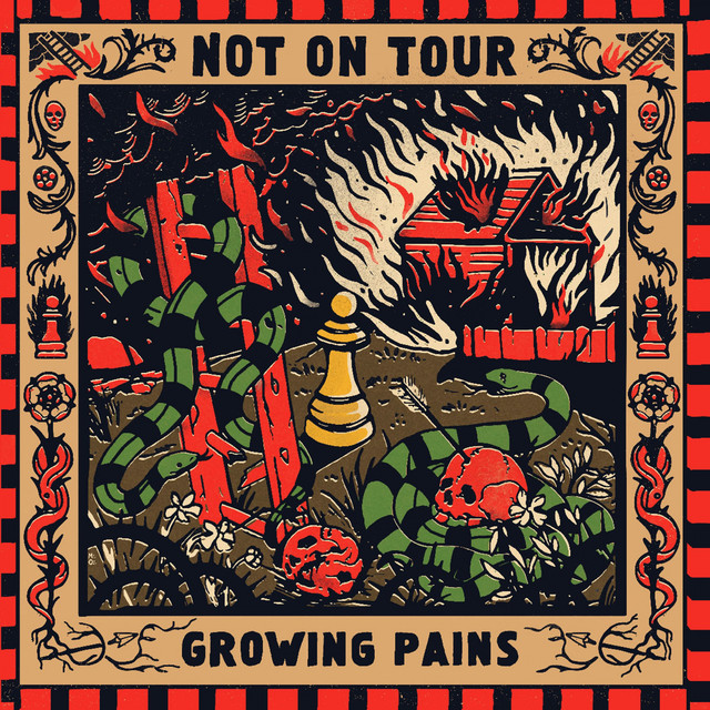 Album cover for Growing Pains by Not On Tour