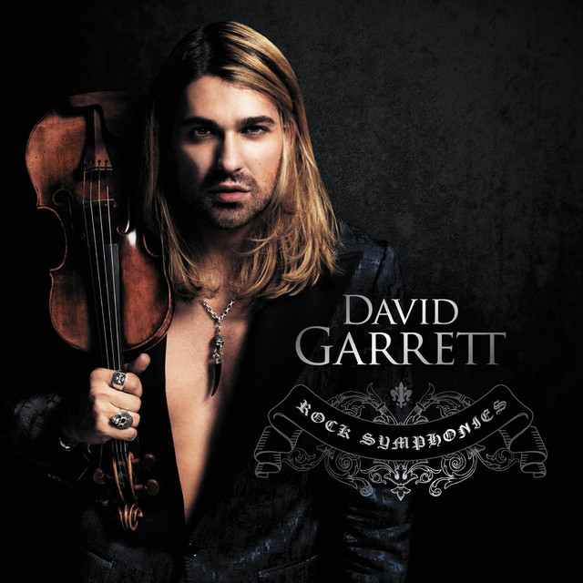 David Garrett Rock Symphonies album cover