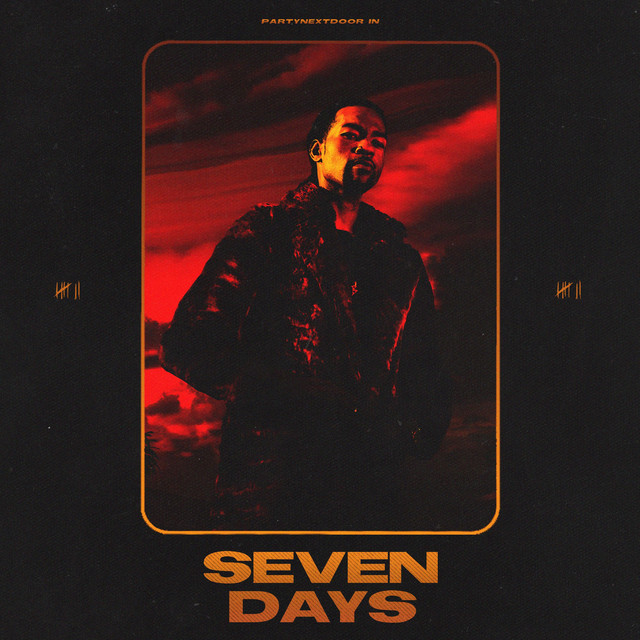 Album cover for Seven Days by PARTYNEXTDOOR