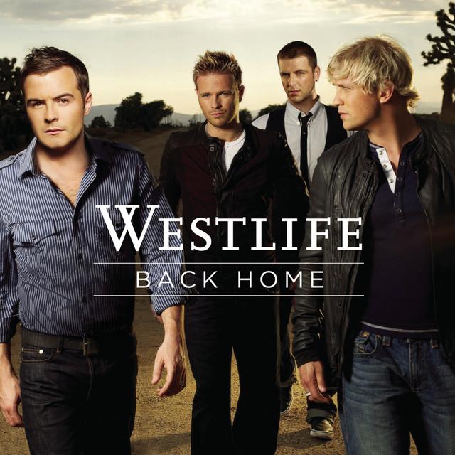 Westlife Back Home album cover