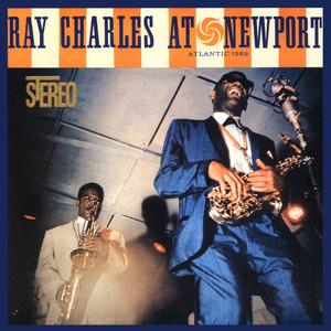 Ray Charles At Newport Albumcover