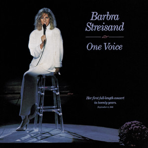 Barbra Streisand Somewhere cover