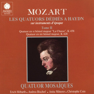 Mozart: Les quatuors dédiés à Haydn sur instruments d'époque, Vol. 2 Albümü