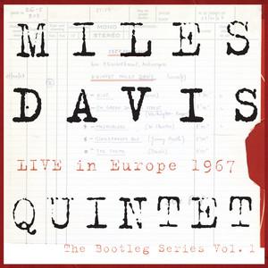MILES DAVIS QUINTET - Live In Europe 1967 - The Bootleg Series Vol. 1 Albumcover