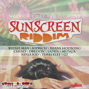 Sunscreen Riddim Albumcover