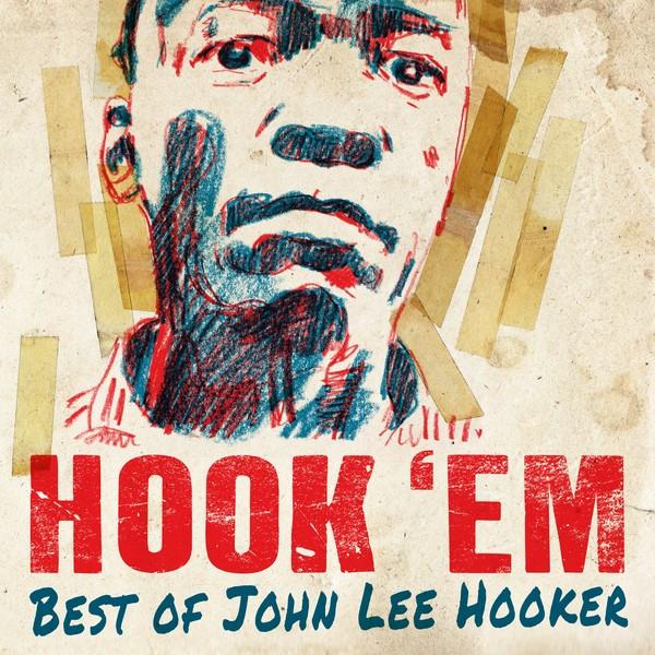 Hook 'Em - Best of John Lee Hooker Albumcover