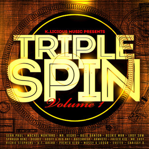 Triple Spin, Vol. 1 Albumcover
