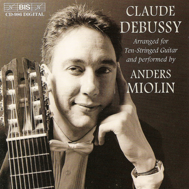 Debussy: 2 Arabesques / Preludes (Selections) / Pour L'Egyptienne Albumcover