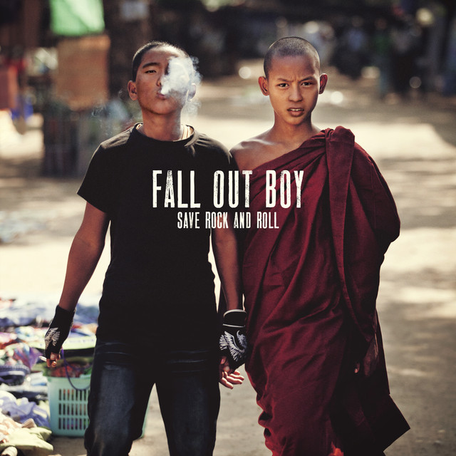 Fall Out Boy Save Rock and Roll album cover