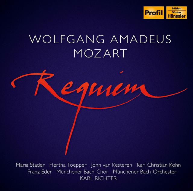 Mozart: Requiem in D Minor, K. 626 (Completed J. Eybler & F. Süssmayr) Albumcover
