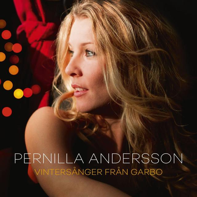 Skivomslag för Pernilla Andersson: Vintersånger Från Garbo