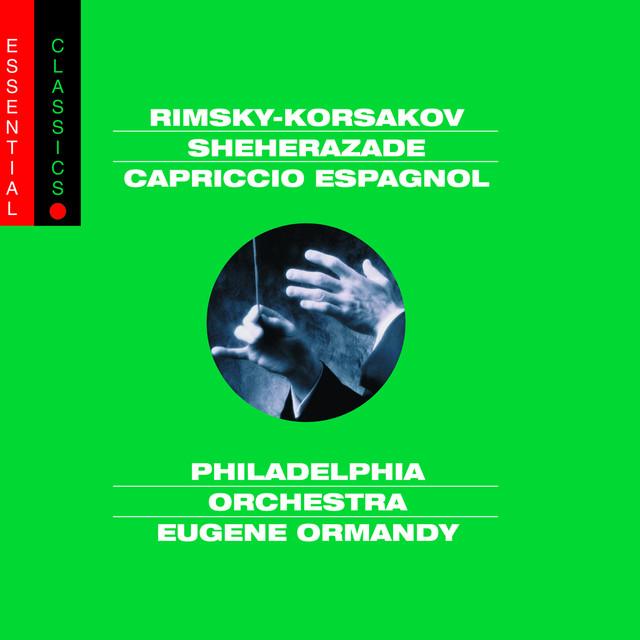 Rimsky-Korsakov: Scheherazade; Russian Easter Overture & Capriccio Espagnol Albumcover