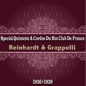 Quintette du Hot Club de France, Reinhardt, Grappelli Rose Room cover
