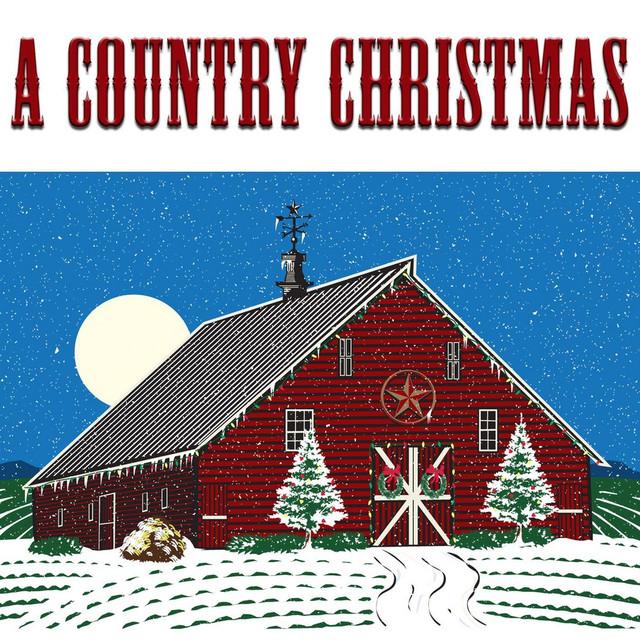 Various Artists A Country Christmas album cover