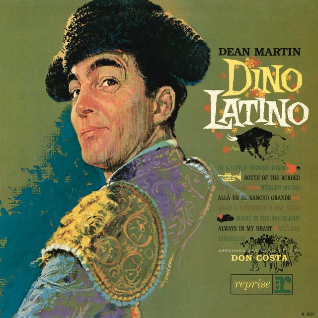 Dean Martin Dino Latino album cover