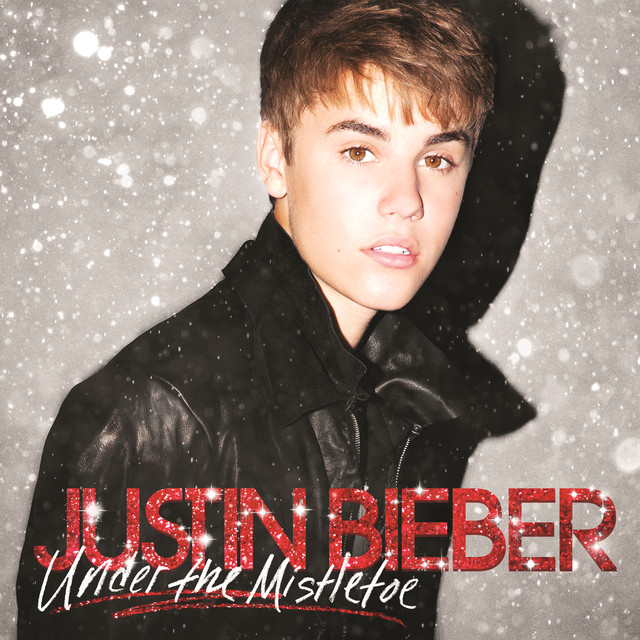 Justin Bieber Under the Mistletoe album cover