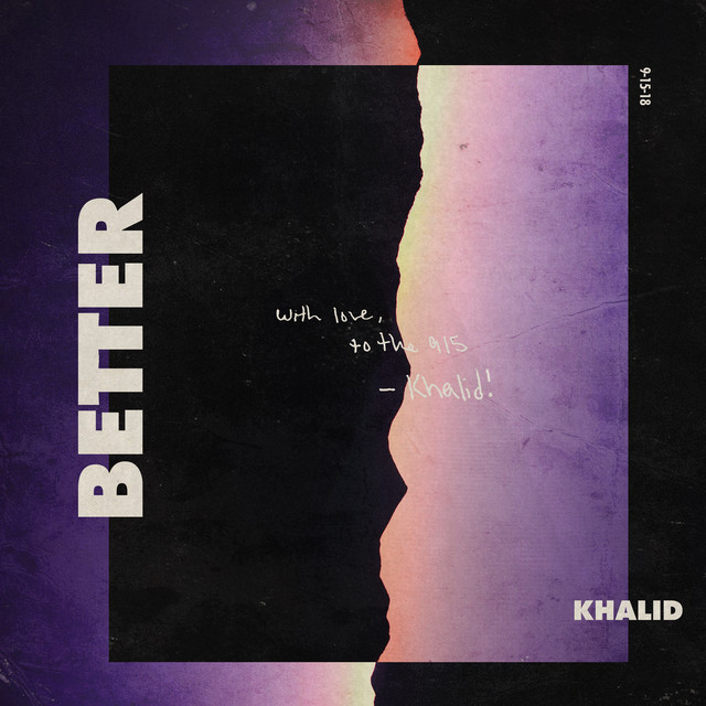 Khalid Better album cover