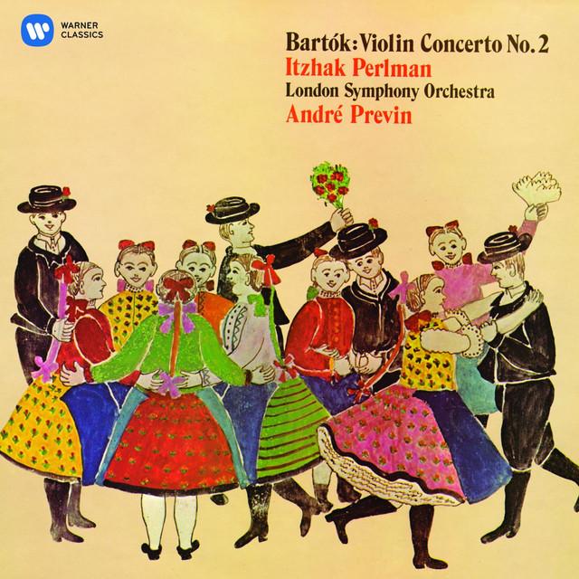 Bartók: Violin Concerto No. 2 Albumcover