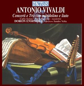 Vivaldi: Concerti e Trii con mandolino e liuto Albumcover