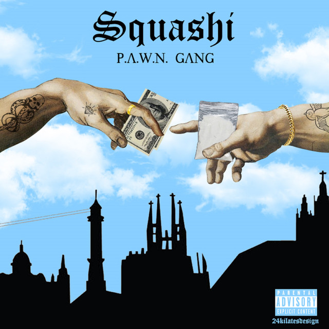 Album cover for Squashi by P.A.W.N. Gang