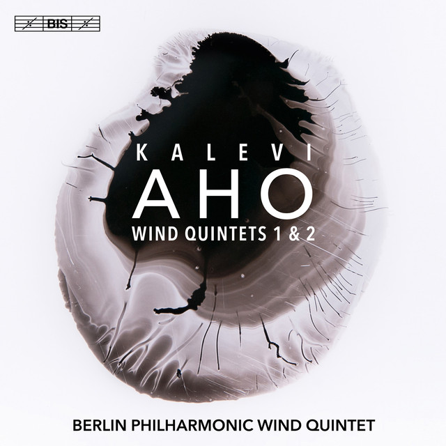 Album cover for Kalevi Aho: Wind Quintets Nos. 1 & 2 by Kalevi Aho, Philharmonisches Bläserquintett Berlin