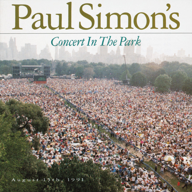 Paul Simon's Concert In The Park August 15, 1991
