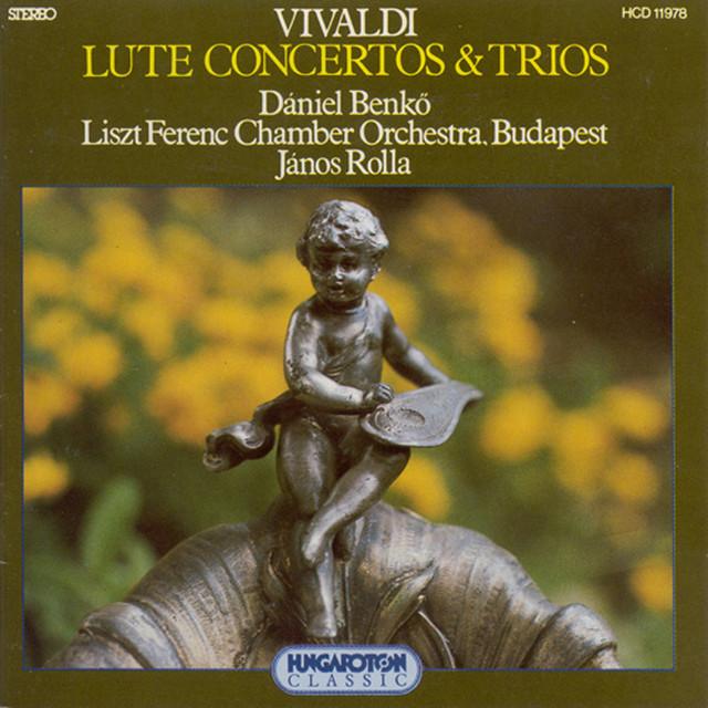 Vivaldi: Lute Concerto / Viola D'Amore Concerto / Trio Sonatas Albumcover