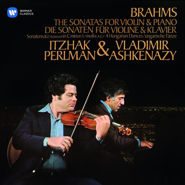 Brahms: Violin Sonatas Nos 1 - 3 & 4 Hungarian Dances Albumcover