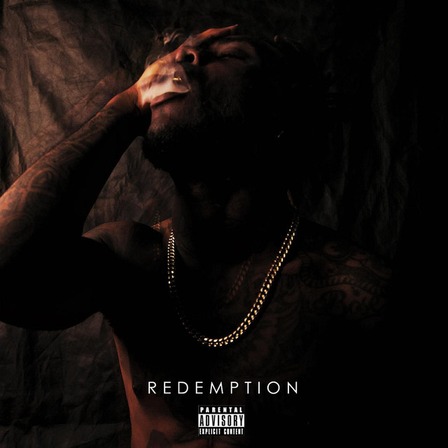 Album cover for Redemption by Burna Boy