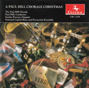 A Paul Hill Chorale Christmas - Anonymous