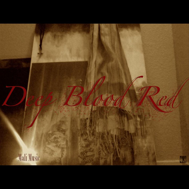 Deep Blood Red
